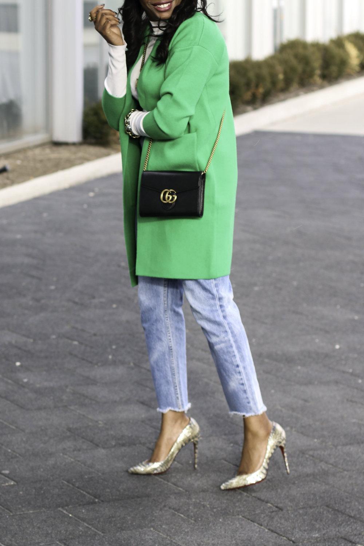 GREEN SWEATER COAT AND GUCCI BAG.jpg