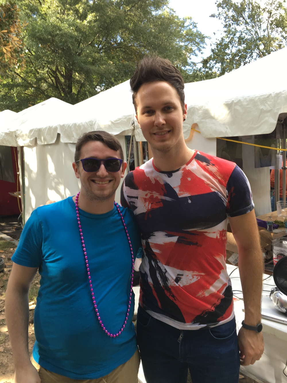 Daniel Ashley Pierce - 2015 Atlanta Pride Parade Grand Marshal