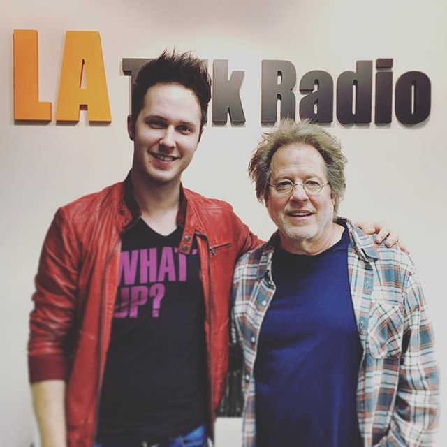 That's a wrap!  GREAT show with legendary songwriter Steve Dorff on LA Talk Radio!  Catch the podcast version on iTunes TOMORROW!  #latalkradio #whatsupwithnorwood