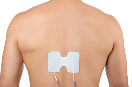 thoracic back pain electrode placement