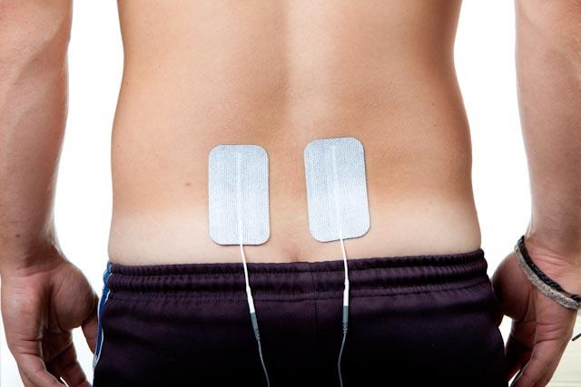 sciatica electrode placement