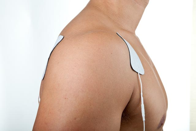 Shoulder injury electrode placement