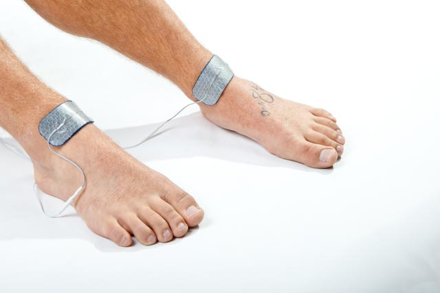circulation electrode placement