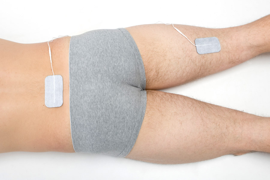 sciatica electrode placement
