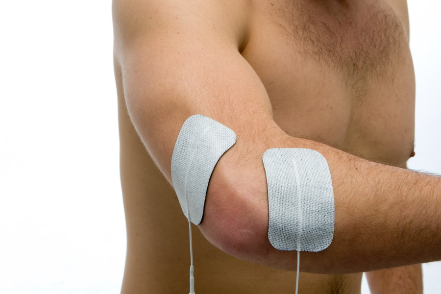 tennis elbow electrode placement