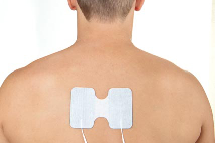 upper thoracic back pain electrode placement
