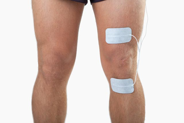 knee injury electrode placement