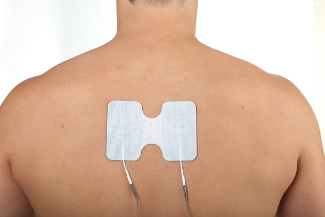 TENS for thoracic spine pain and injury