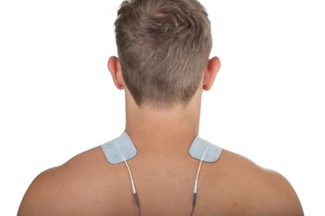 neck pain electrode placement