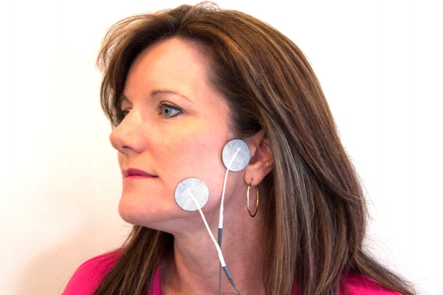 facial pain electrode placement