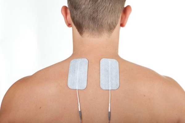 neck injury electrode placement