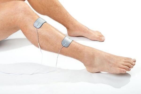Shin splints electrode placement