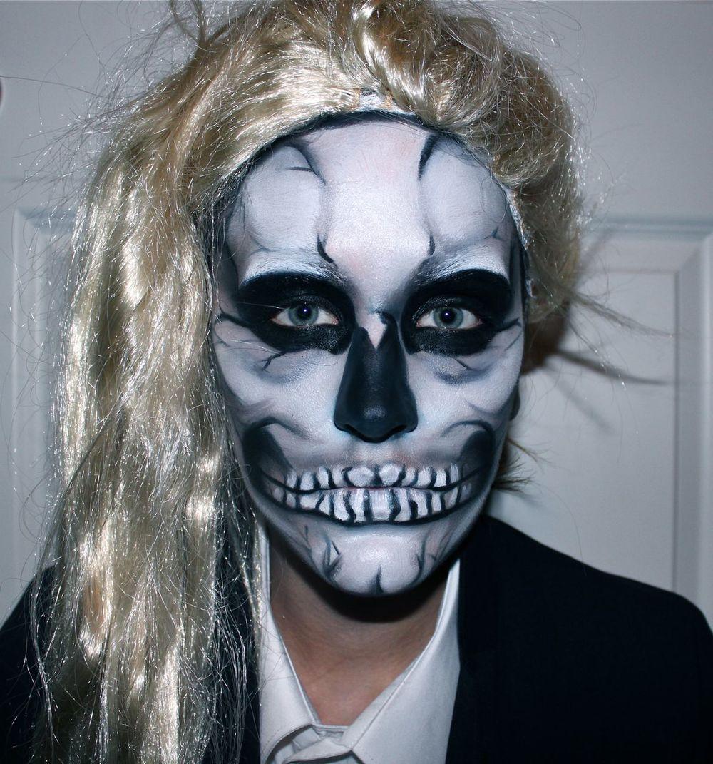 MakeupandMeg Skull