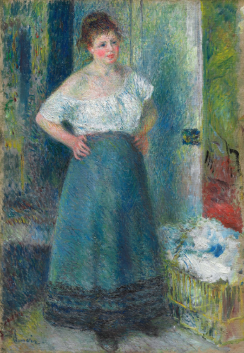Pierre-Auguste Renoir, The Laundress, Late 19th century
