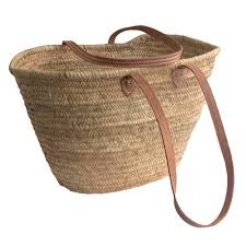 French Market Bag - Perfect for the beach, summer picnics or the market
