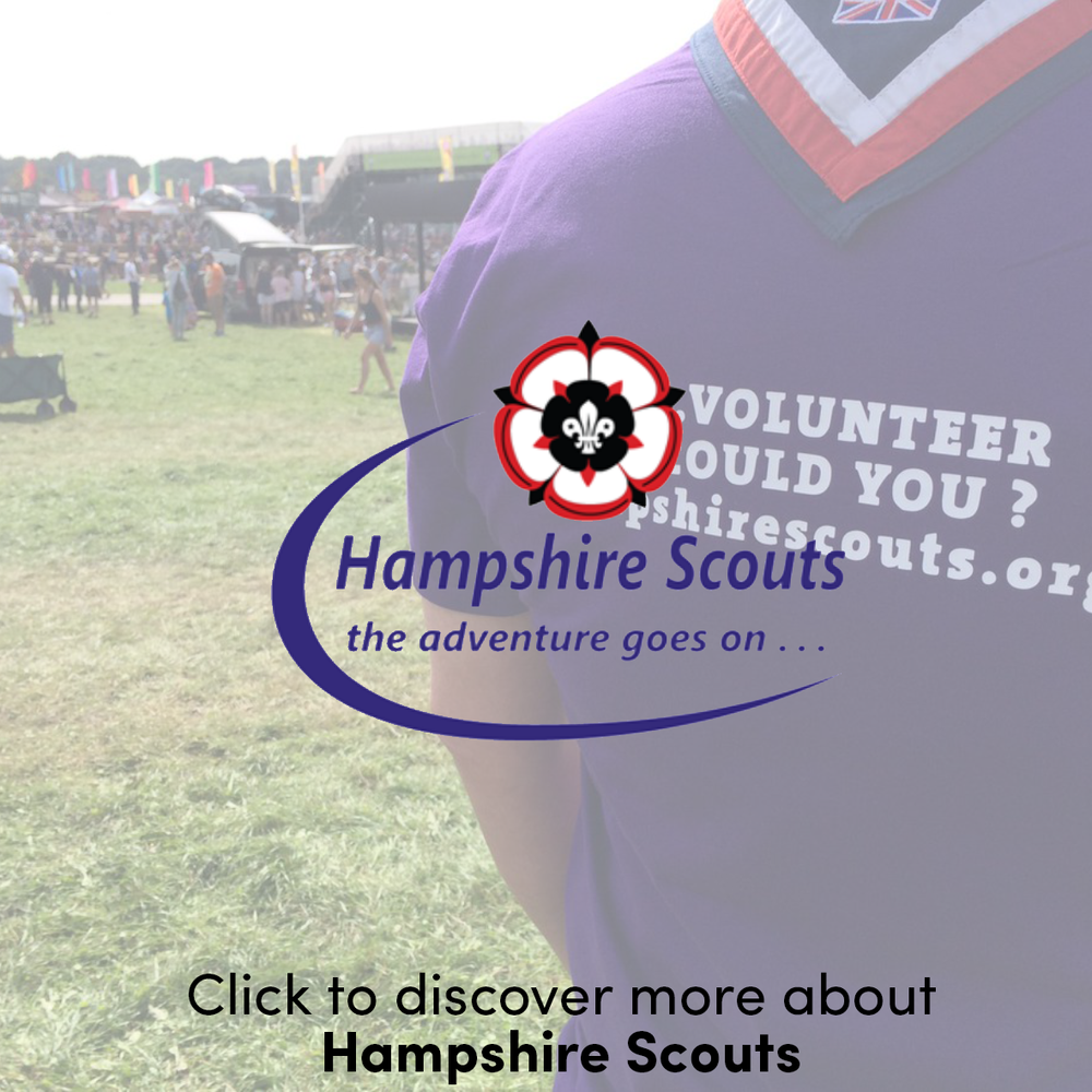 I'm proud to be a trustee and exec member of Hampshire Scouts, the largest co-educational charity in Hampshire giving some 20,000 members from the age of six upwards access to fun, challenge and adventure. Scouting has an ability to take the most technologically reliant of people (take for example, me) and throw them into a world of outdoor activities - which they no doubt love.