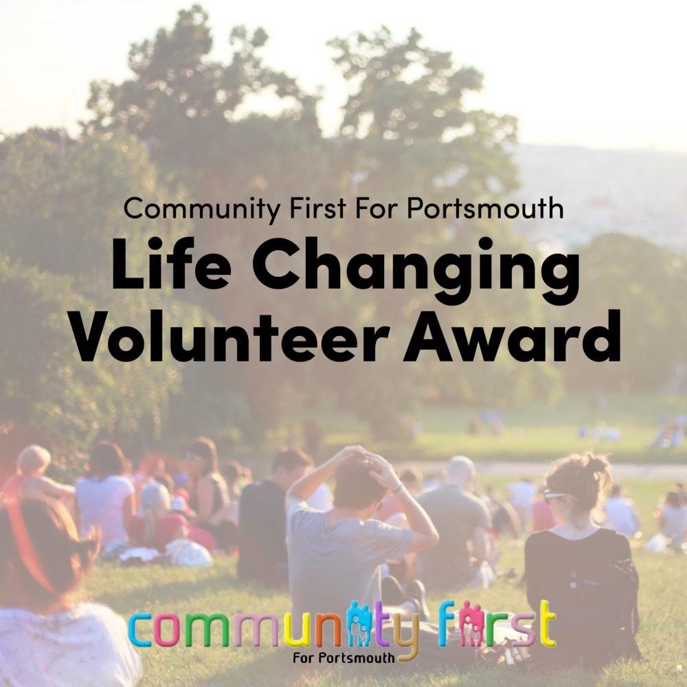 Life Changing Volunteer Award 2010.png