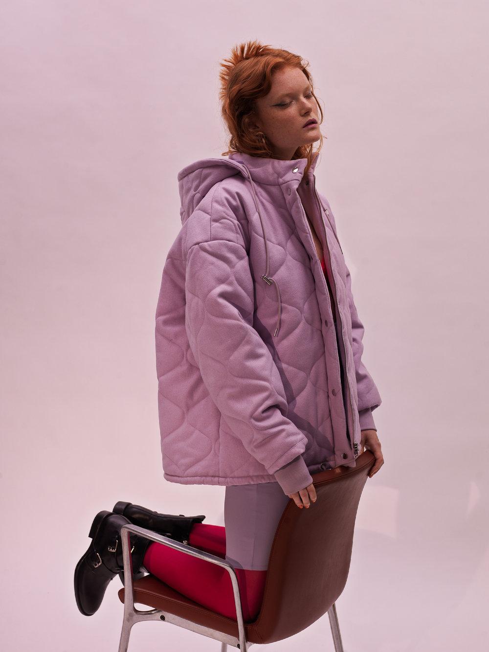 Zarina Green in Vogue Italia by fashion photographer Kia Hartelius