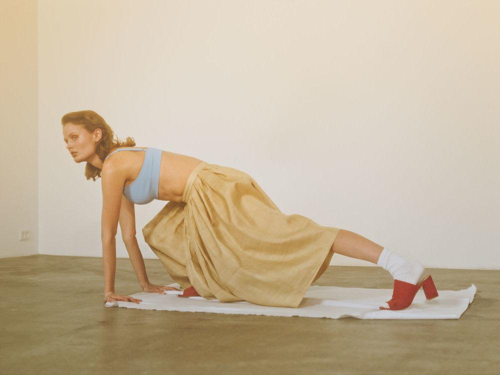 Cleo De Laet by photographer Kia Hartelius