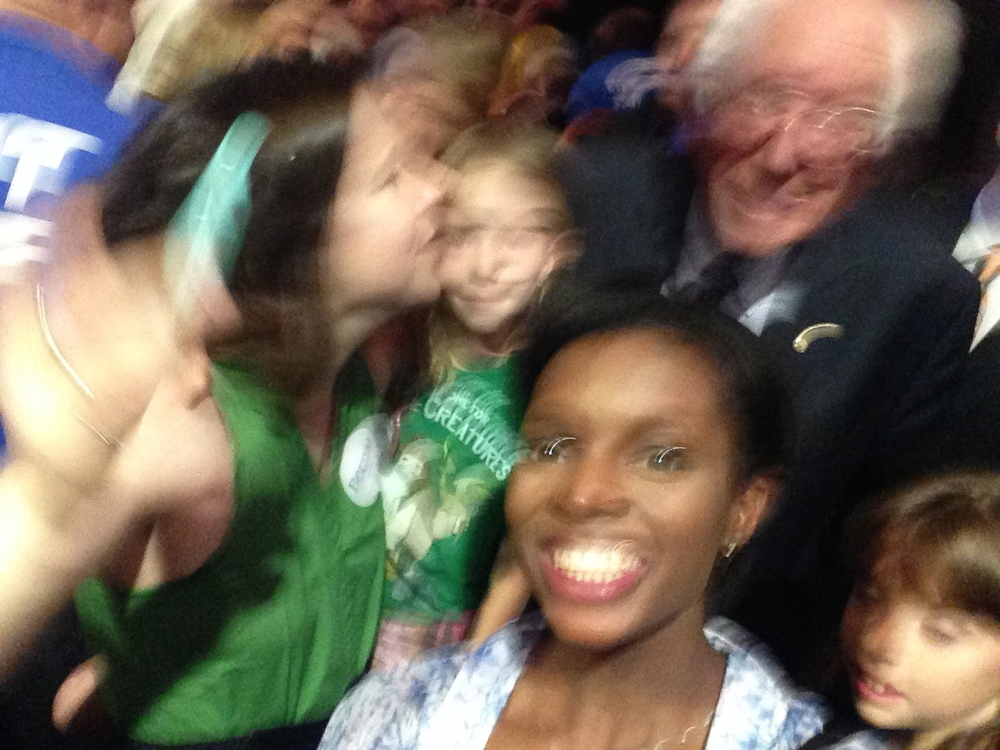 Blurred lines with Bernie!