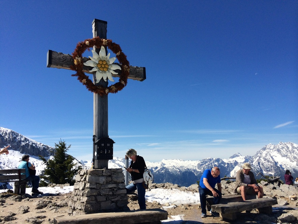 The war memorial at The Eagle's Nest, Berchtesgaden, Germany