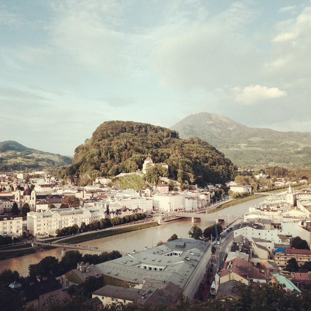 Overlooking Salzburg, Austria