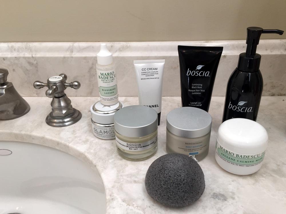 Trip skincare routine