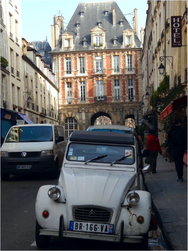 Marais, Paris, France   Photo Credit: Colleen O'Neil