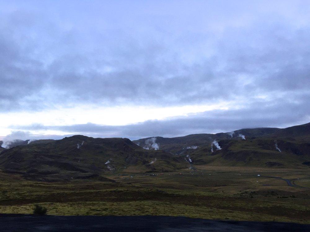 Hellisheiði Mountain Pass