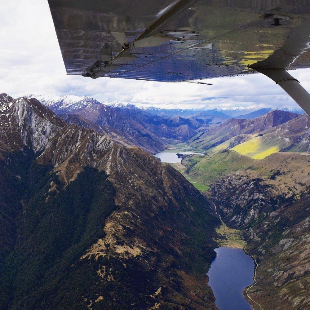 Valleys near Milford Sound