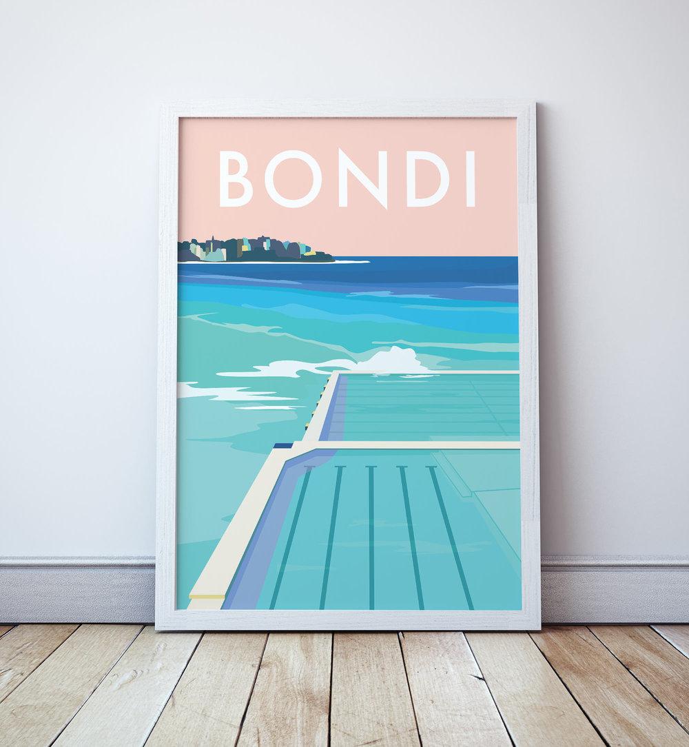 Bondi Beach Etsy Print