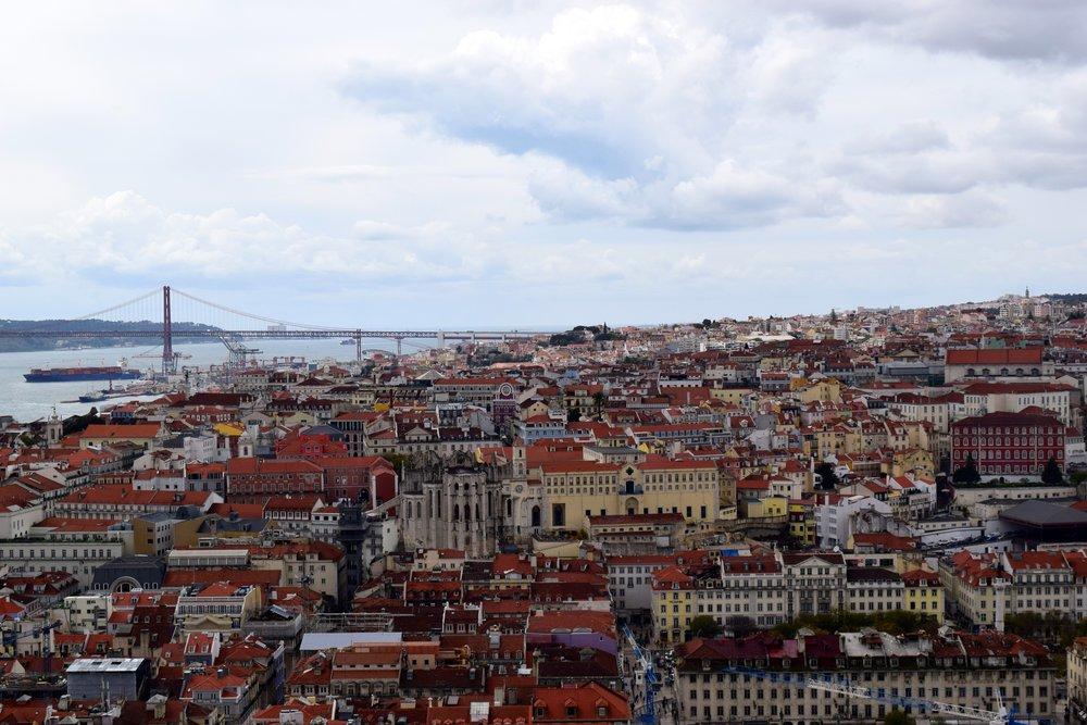 Lisbon from São Jorge Castle