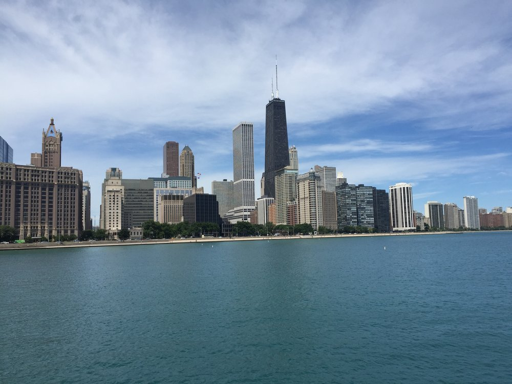 Navy Pier Skyline View