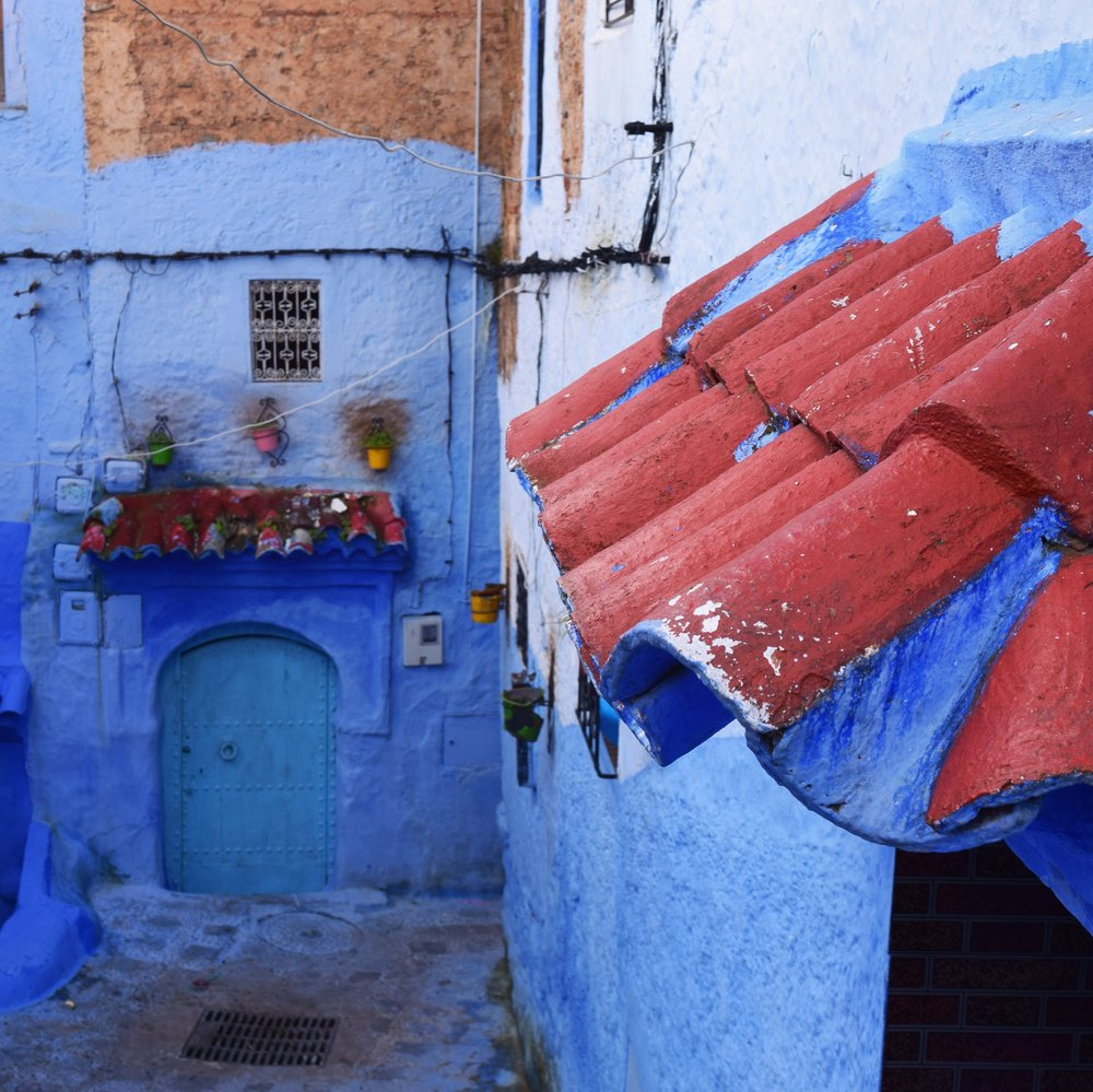 Moroccan Blue City