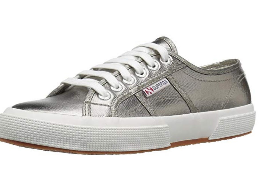 Silver Superga Sneakers