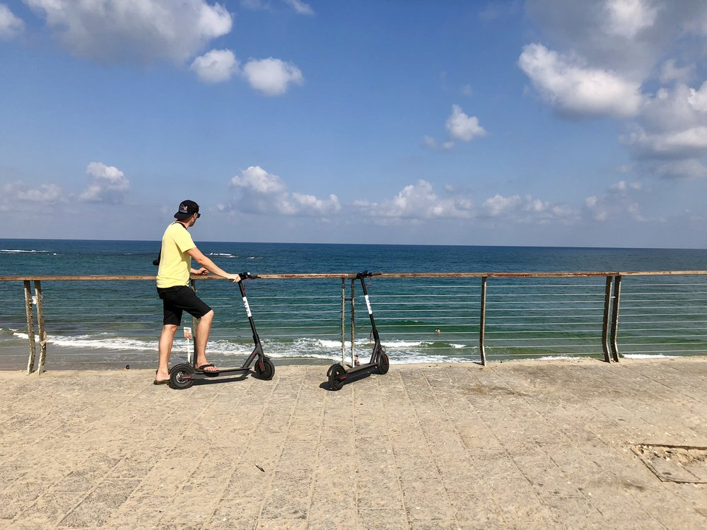Bird Scooter Tel Aviv
