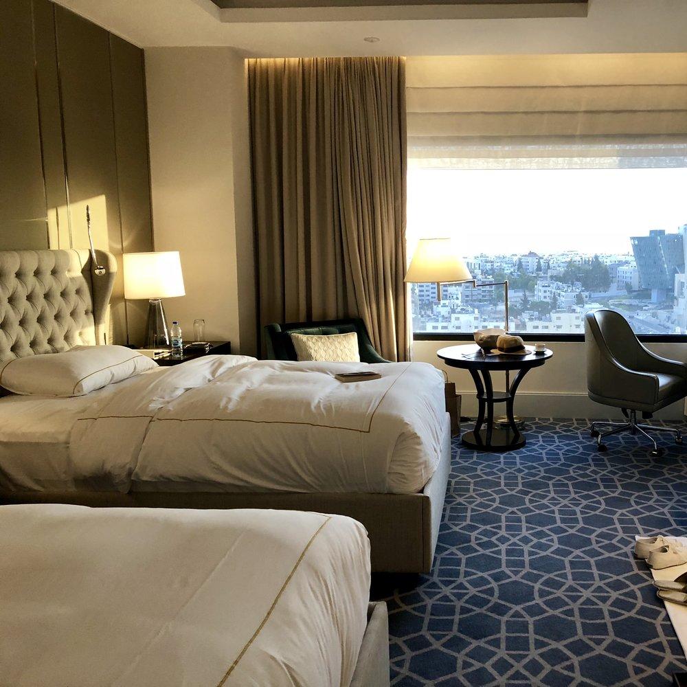 Room at Fairmont Amman