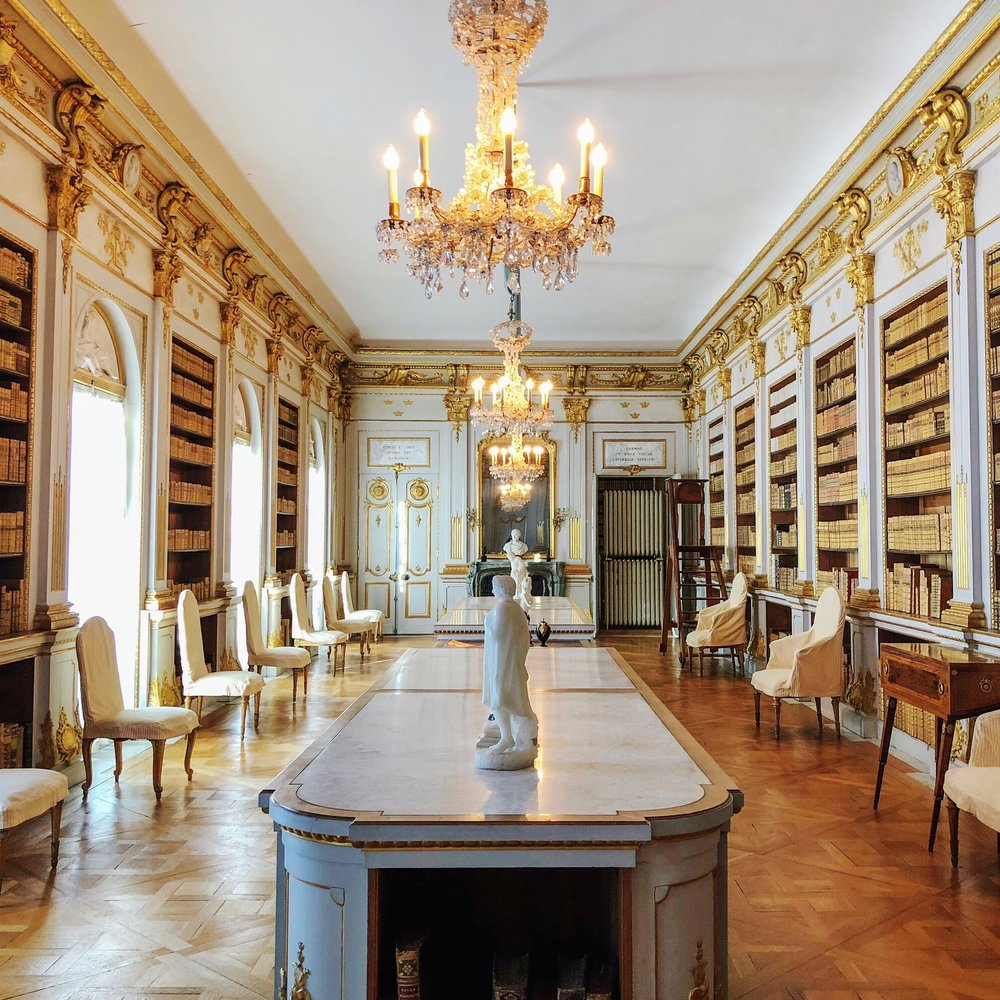 Drottningholm Palace - Library