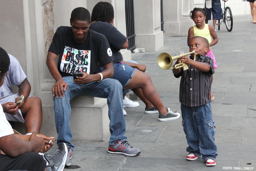 Boy Trumpeteer