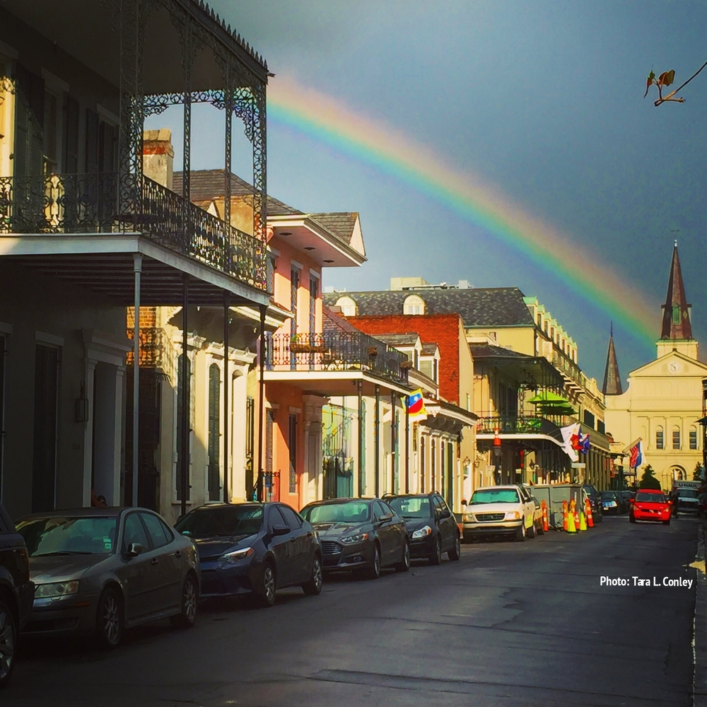 Rainbow over NOLA
