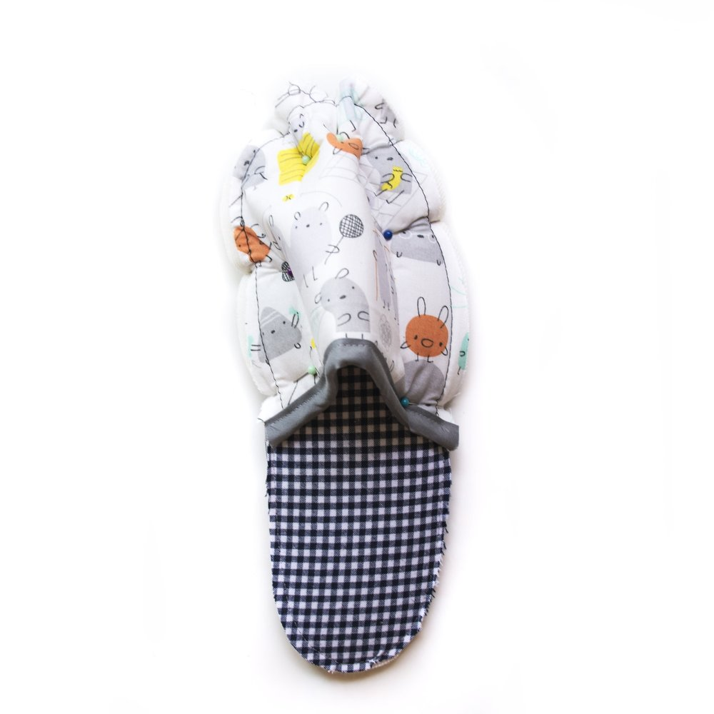 DIY Summer Slippers — Friday Pattern Company