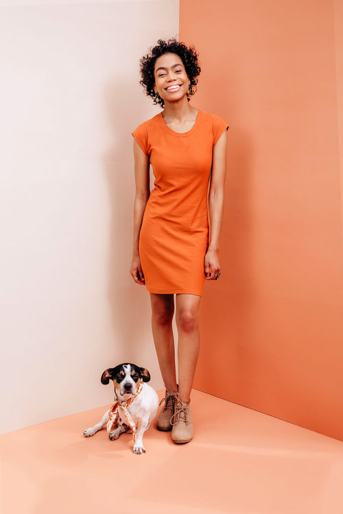 The Sunny Dress Top Pdf Pattern Friday Pattern Company