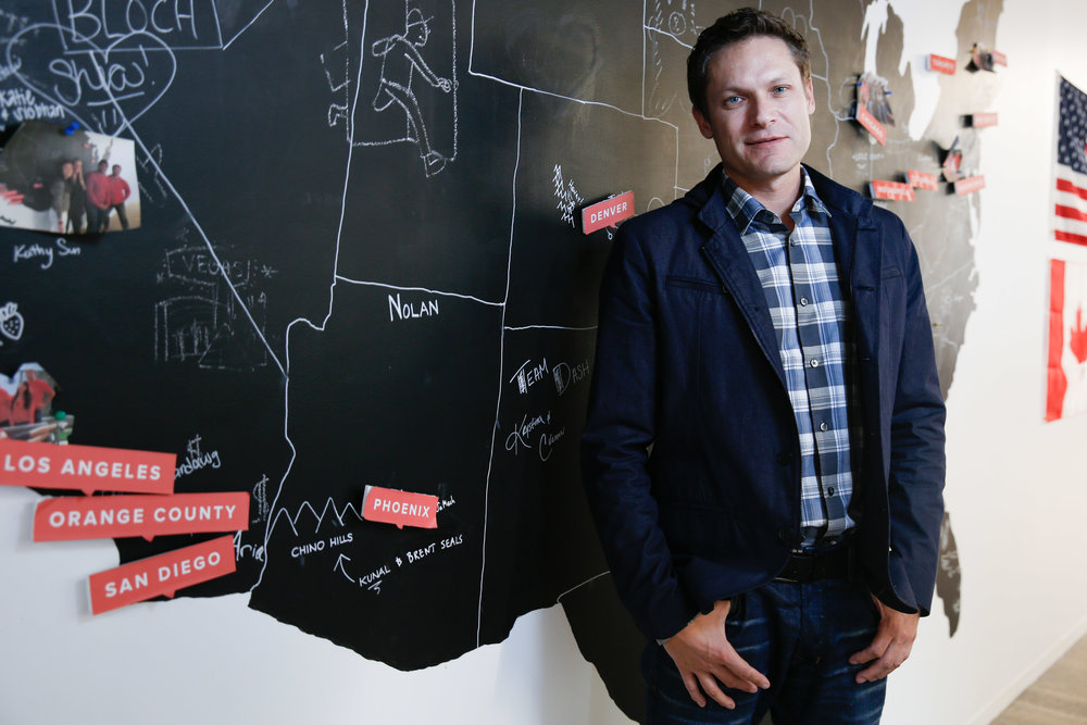 Mike Hinsdale CEO of DoorDash