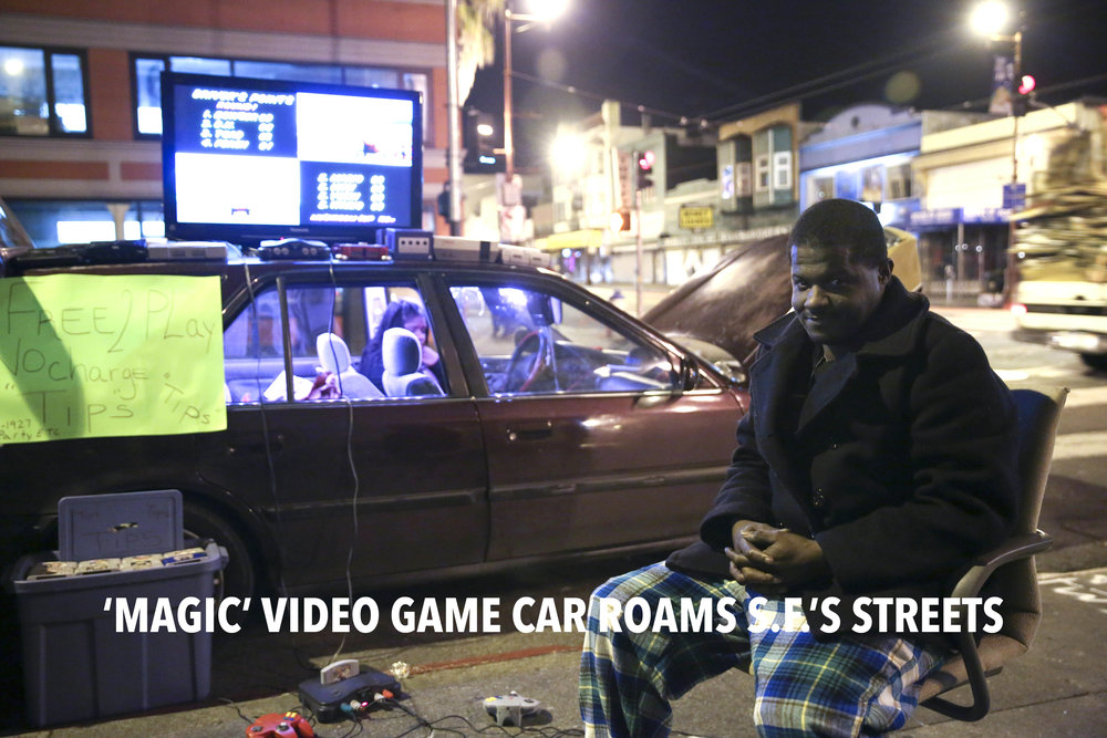 Magic video game car roams S.F. streets: Maurice Ford  |  SF Chronicle