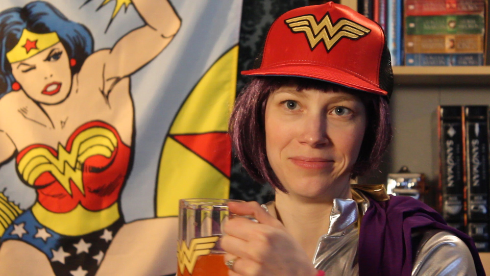 Blip Blork meets Wonder Woman in person, only to find her heroine is not quite what she seems.     WINNER - The Howard Sonnenburg Spirit of the Festival Award