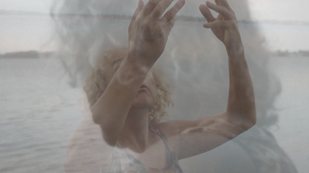 LOLA, THE WIND  Izabel Barsive (10:14)  I was the figure in the landscape The elements called me to dance I did not think, I only moved That was all I needed . Exploring with poetry, through a choreography improvised, a transformation, filmed with a digital pinhole camera.