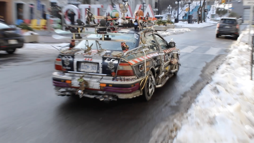 Ottawa's Frontier (6:49)  Bonan Huang, Dan Webster, Fiona Brui-Robey, Cameron Matheson, Matthew Thompson & Chad Hogue  Ismael LBG is locally famous for driving his car around Canada. His car is his way to show people his appreciation and happiness.