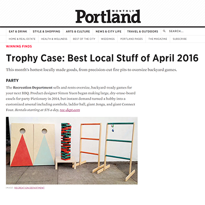 Portland Monthly Online / April 2016
