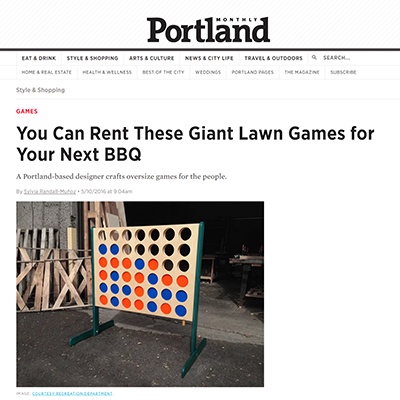 Portland Monthly Online | May 2016