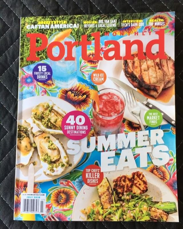 Check out the summer  issue of Portland Monthly currently out in news stands! Thanks for the mention @pomomagazine!  #pdx #pdxsummer #pdxevents #pdxsmallbusiness #yardgames #partygames #recdept